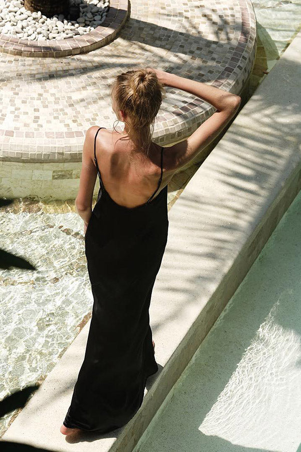 Camisole Maxi Dress | Black Book Fashion