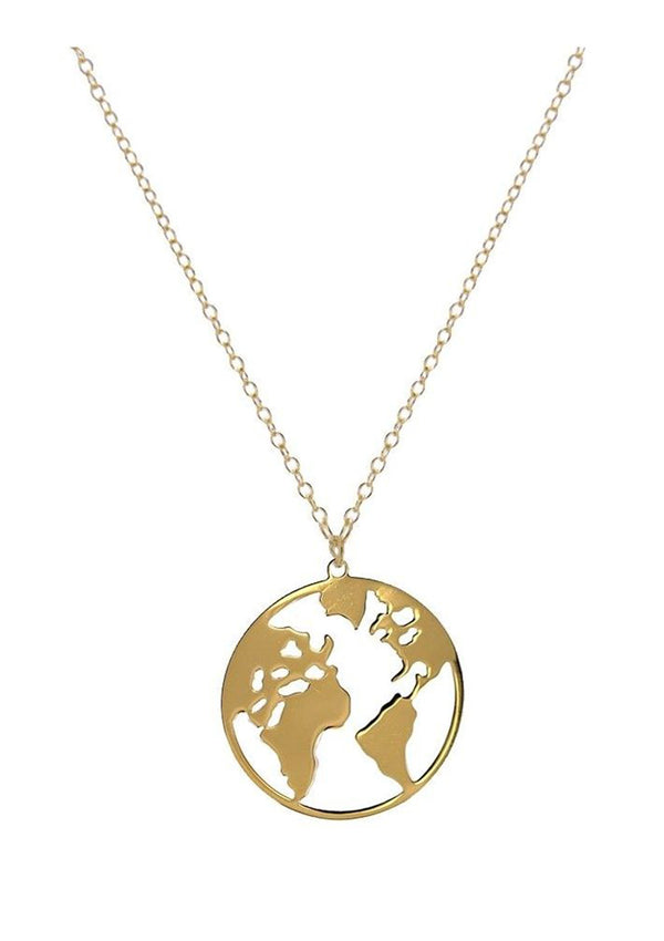 World Necklace | Black Book Fashion