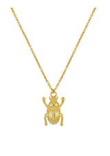 Beetle Necklace | Black Book Fashion