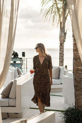 Emily Wrap Dress | Black Book Fashion