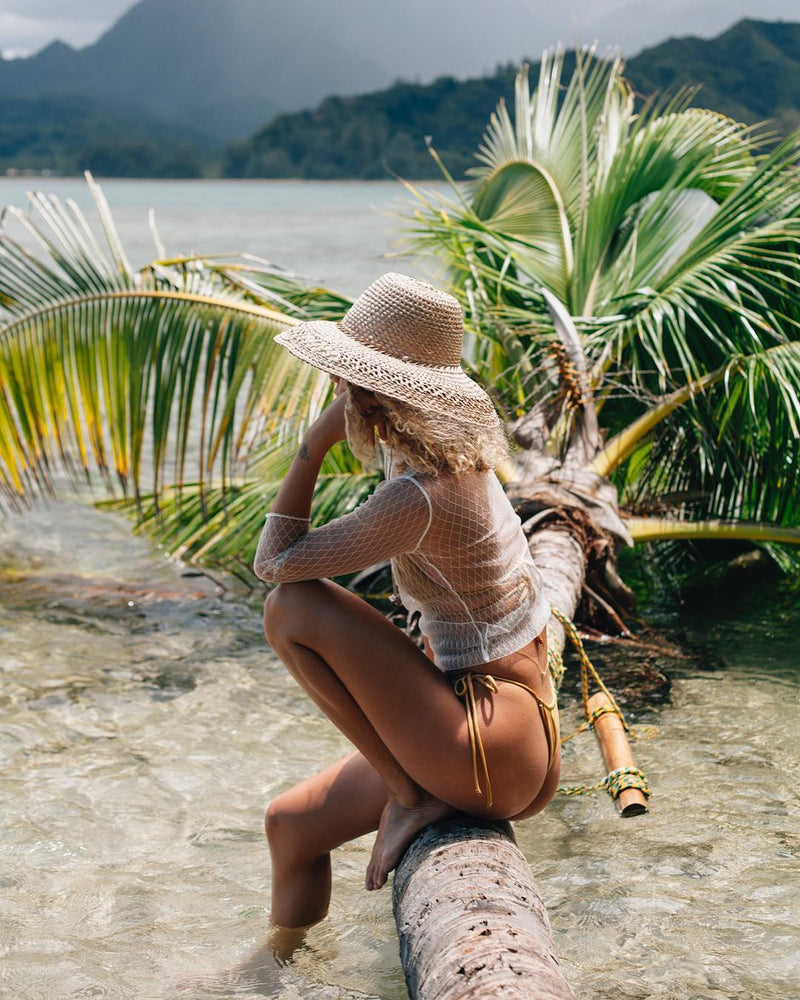 Palm Canyon Straw Hat | Black Book Fashion