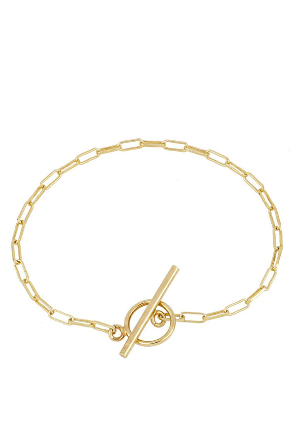 Knot Chain Bracelet | Black Book Fashion