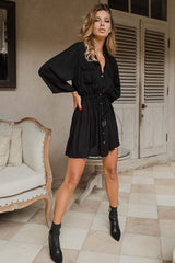 Taylor shirt dress | Black Book Fashion