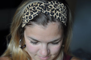 Cheetah Print Twist Headband