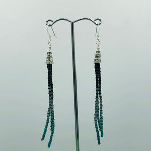 Elegant Adventures -  Black/Turquoise (small)