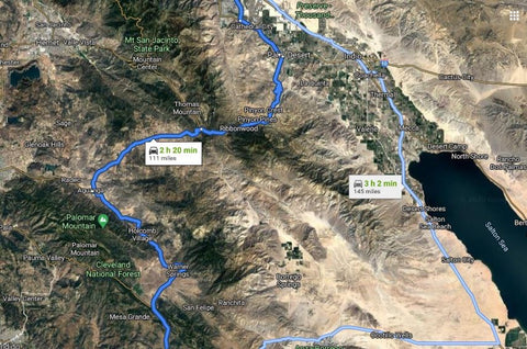 REGISTRATION NOW OPEN  - 11/13/20 Mountain Drive from Palm Springs to Ramona for SOCIALLY DISTANCED lunch and winery tour!