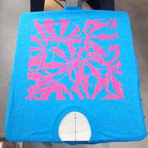 Tshirt Screenprinting Workshop: How to Use A Press