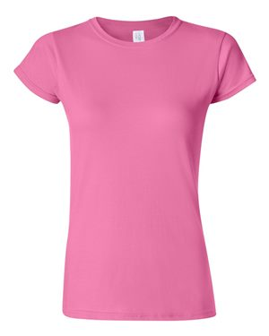 Pink Womans Fit Tshirt 100% cotton