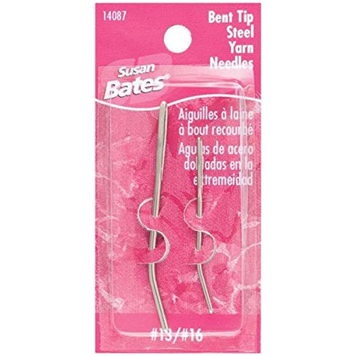 Bent Tip Yarn Needles 2 pk
