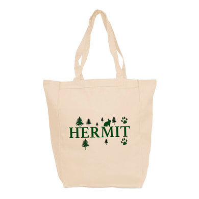HERMIT Tote Bag, Bandana or T-Shirt