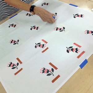 Block Printing on Textiles; Private, Group, or Event