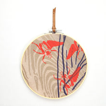Load image into Gallery viewer, Embroidery Ring Fiber Wall Art