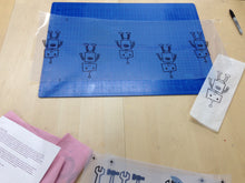 Load image into Gallery viewer, Textile Screenprinting Workshop: Repeat Pattern Printing