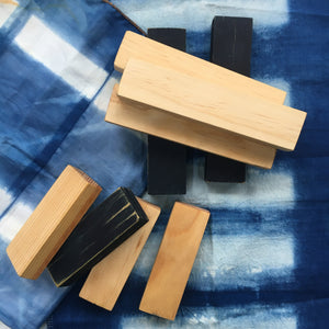 Itajime Blocks for Shibori Dyeing