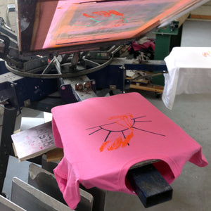 Tshirt Screenprinting Private Workshop: How to Use A Press