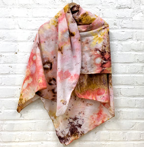 Colorful Long Cozy Scarf
