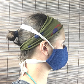 Eco Friendly Antibacterial Masks: medium weight