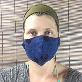 3 Layer Eco Friendly Antibacterial Masks: silk like