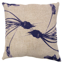 Load image into Gallery viewer, Dancing Beets Print Heavy Basketweave Linen Pillows