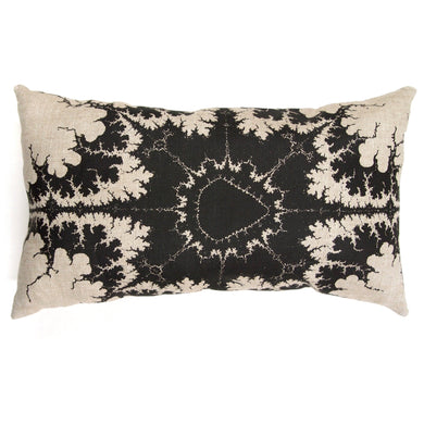 Mandelbrot Fractal Linen Pillows