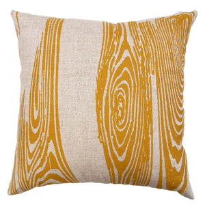 Custom Printed and Made Silkscreened Basketweave Linen Pillows