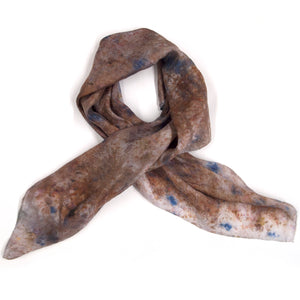 Bundle Dyed XL Bandana Silk Scarf