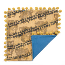 Load image into Gallery viewer, Olive Linen AntiDyed Shibori Blockprinted Throw Pillows