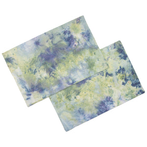 Snow Dyed Bed Pillow Cases