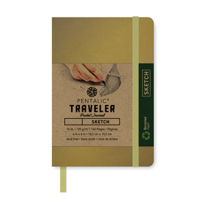 Traveler Sketchbook + Journal