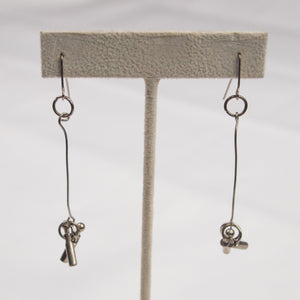 Umbrella Reuse Earrings