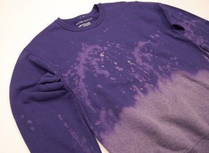 Sale Bin Anti Dye Sweatshirt // Purple