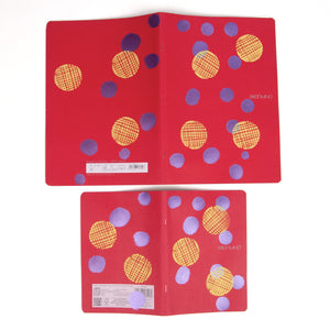 Printed Eco-friendly Sketchbook printed Polka Dots on Polka Dots