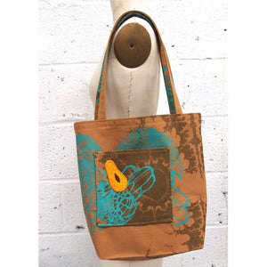 Tote with Fruit or Veggie Patch