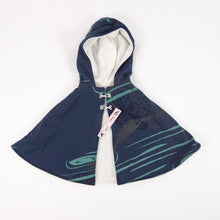 Load image into Gallery viewer, Kids Hooded Cape // Navy Blue
