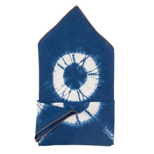Load image into Gallery viewer, Indigo Dyed Linen Bandana