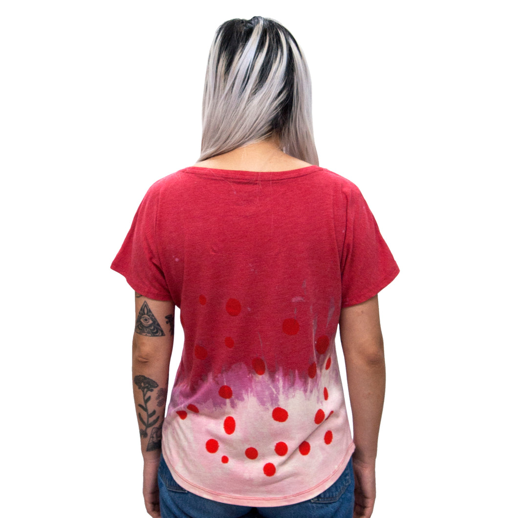 Anti Dye Polka Dot T // All Colors