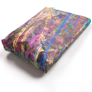 Print Table Drop-clothe Zip Pouch