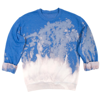 Anti Dye Sweatshirt // Glacier Blue