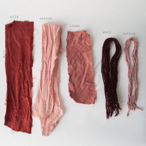 Natural Dyes Sampling Set