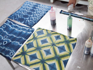 Advanced Shibori with Color Workshop