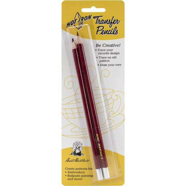 Hot Iron Transfer Pencils 2/Pkg