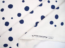 Load image into Gallery viewer, Hand Screenprinted Cotton/Linen  by Yard // Custom Polka Dots Any Color