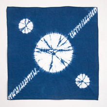 Load image into Gallery viewer, Indigo Dyed Linen Hanky