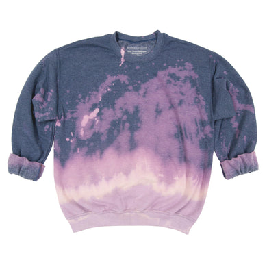 Anti Dye Sweatshirt // Heather Blue
