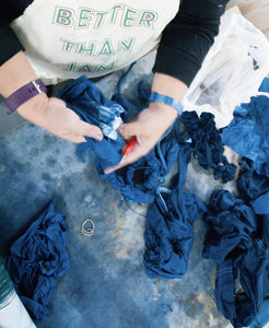 Exploring Indigo and Shibori, 4 Session Workshop Intensive