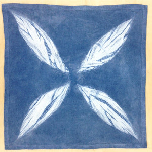 Stitch Resist Shibori Workshop with Organic Indigo