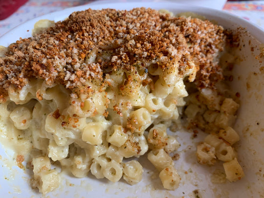 Baked Poblano Mac and Cheese
