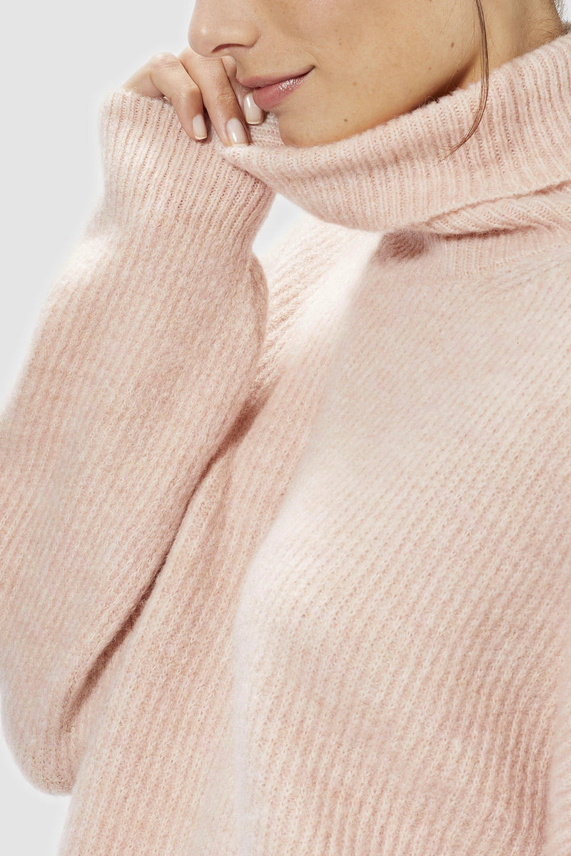 Rich & Royal - Roll neck sweater - Detailansicht