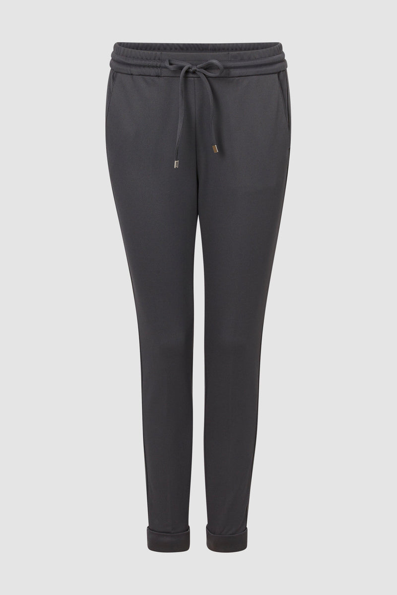 Rich & Royal - Jogging-Pants aus Twill - Büste