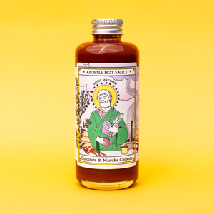 Apostle Hot Sauce -Saint Matthew - Chocolate & Manuka Chipotle 150ml